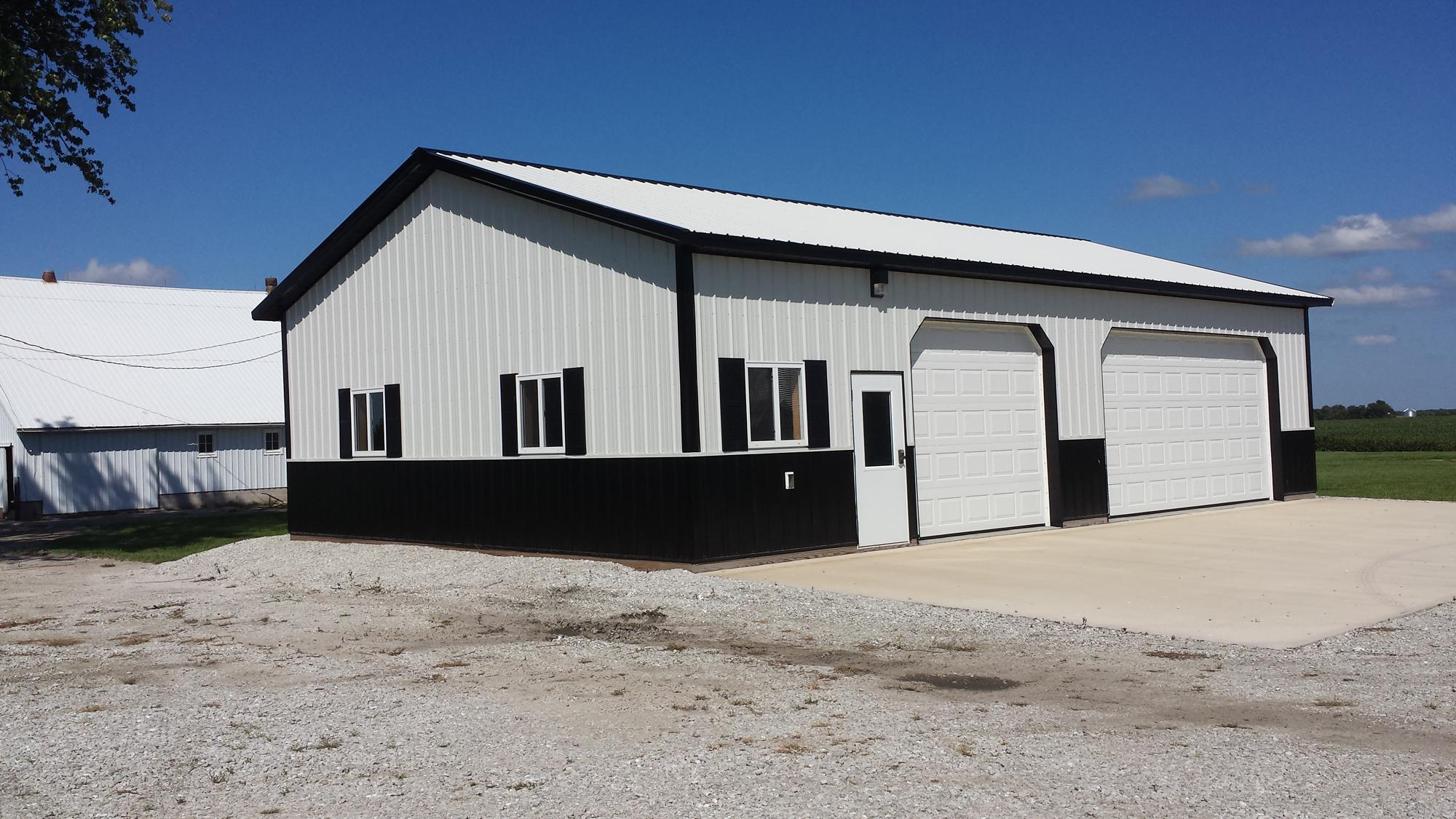 30 39 x 48 39 x 10 39 garage w 3 construction l l c for Garage building contractors