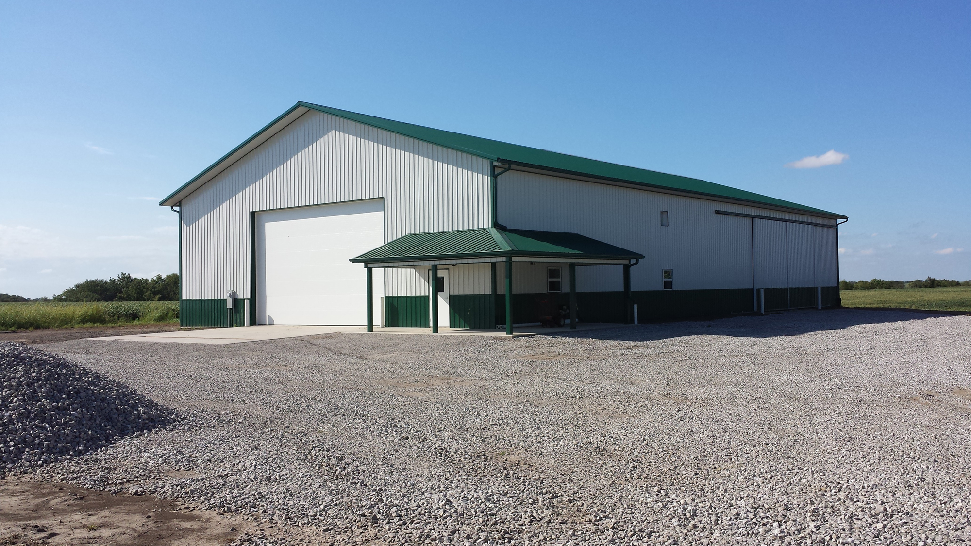 60 X 120 X 18 Ag Shop And Storage Building W 3