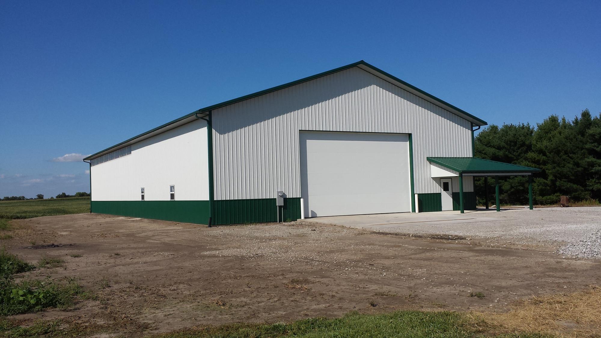 60 X 120 X 18 Ag Shop And Storage Building W 3